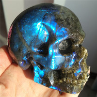 Labradorite Skulls Stones Healing Stone Pierre Naturelle Piedras Naturales y Minerales Natural Raw Pedras Naurais Meditation