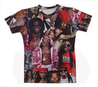 2015 Latest Styles High Quality Men S Short Sleeve T Shirt Fashion Men Women Lil Wayne