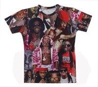 2015 Latest Styles High Quality Men S Short Sleeve T Shirt Fashion Men Women Lil Wayne