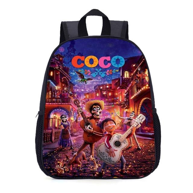 e077276fe0a34 35 cm COCO plecak Pixar film Miguel gitara torba na książki torby szkolne  nastolatek plecak czaszka