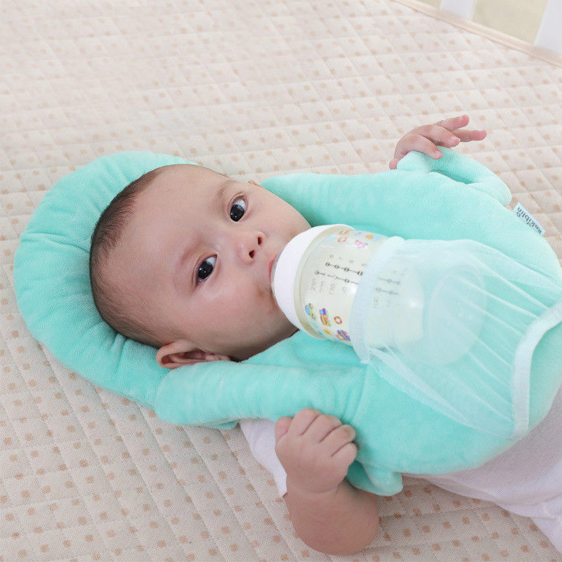 Soft Baby Pillows Multifunction Nursing Breastfeeding Layered Washable Cover Adjustable Model Cushion Infant Feeding Pillow