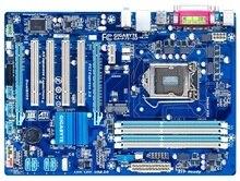 original GA-P75-D3 100% motherboard LGA 1155 DDR3 32GB Desktop motherboard P75-D3 mainboard 22 32 nm
