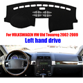 Car dashboard covers mat For VOLKSWAGEN VW  Touareg 2002-2009 years left hand drive dashmat pad dash cover accessories