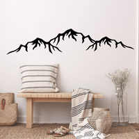 Hot mountain Wall Decal Art Vinyl Stickers For Kids Rooms Home Party Decor Wallpaper Living Room Bedroom adesivo de parede