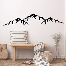 Hot mountain Wall Decal Art Vinyl Stickers For Kids Rooms Home Party Decor Wallpaper Living Room Bedroom adesivo de parede цена
