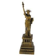 Colecionáveis viagem lembranças de nova iorque a estátua da liberdade modelo 15cm