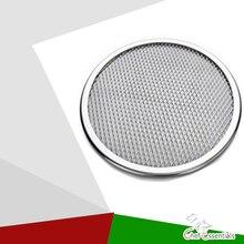 """1"""" бесшовные обода алюминиевая сетка для пиццы выпечки поднос для пиццы защитная сетка посуда для выпечки инструмент для пиццы оборудование"""