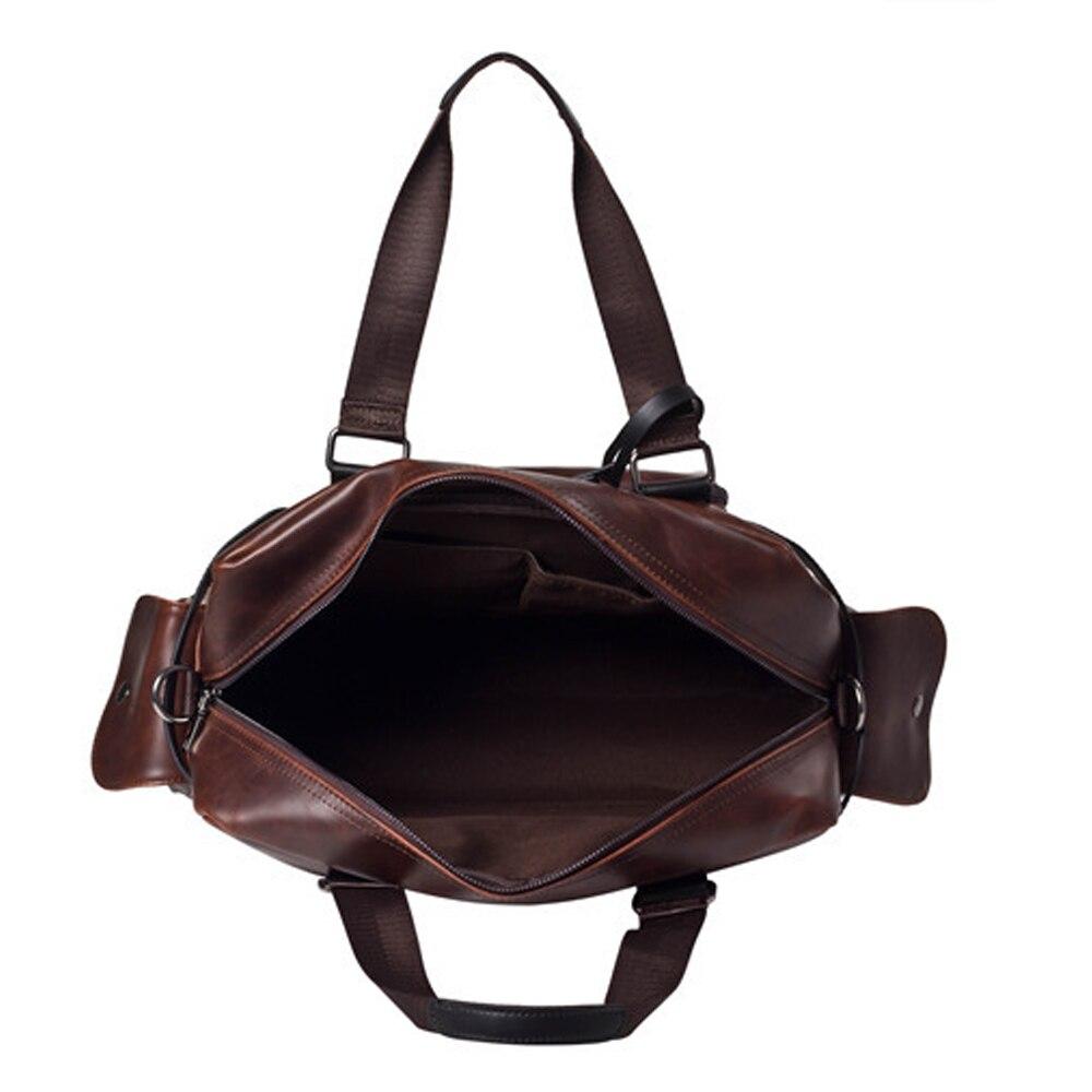 ombro da forma bolsa Key Words : Men's PU Leather Bag