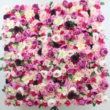 2018 SPR new wedding flower wall backdrop panels wedding party stage artificial flower table runner arrangment decorations