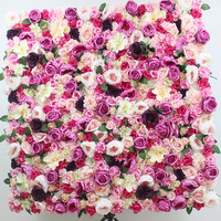 SPR 1939 3 new wedding flower wall backdrop panels wedding party stage artificial flower table runner arrangment decorations