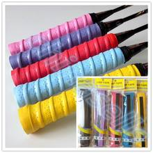 50pcs Tennis Racket Overgrips Anti-skid Sweat tape Absorbed Wraps Badminton Racquet OverGrip Fishing Skidproof Sweat Band grip цена