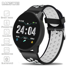 LIGE 2019 New Smart bracelet Watch Men Blood Pressure Heart Rate Sport Mode Fitness tracker watch waterproof Band