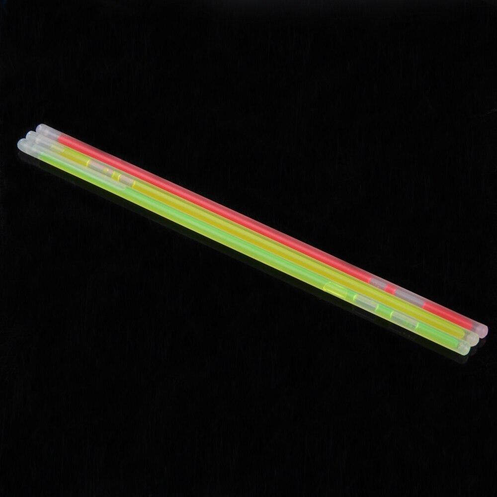 100 Pcs Mix Colors Glow Sticks Colorful Light Stick Party Fluorescent Necklace Bracelet Event Festival Concert Supplies and DIY