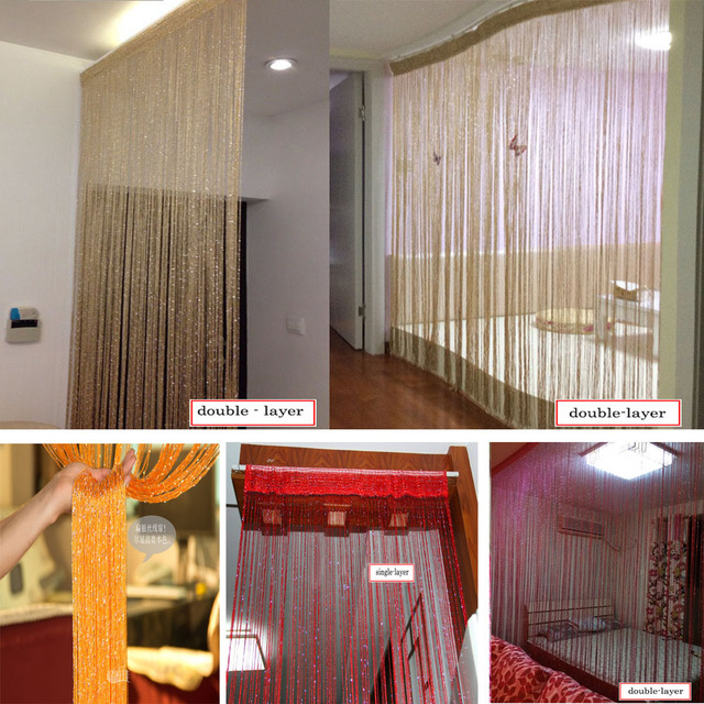 High Grade Silver Slik Straight Line Vertical Blinds Linear Door