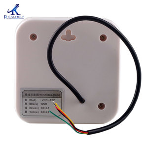 Image 4 - 12 v バズ有線ドアベルドアアクセス制御システムサポートしバッテリードアのベルチャイムホームオフィス