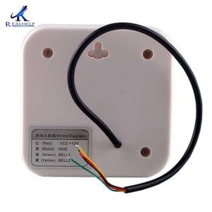 Image 4 - 12V BUZZ przewodowy dzwonek System kontroli dostępu do drzwi wspieranie bez instalacji dzwonek do drzwi dzwonek do domu