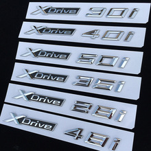 1pcs 3D ABS Car Styling XDrive Logo Emblem X Drive 20i 25i 28i 30i 35i 40i 48i 50i For BMW X1 X3 X4 X5 X6 Door Sticker 3d carpet boratex brtx 2110 for bmw x5 x6 black e 70 71