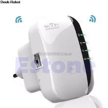 300 Mbps Extensor De Señal Booster Wireless-n AP Range 802.11 Wifi Repeater UE Plug # H029 #