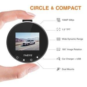 Image 2 - ThiEYE Dash Cam Safeel Bằng Không DVR Xe Ô Tô Dash Camera REAL HD 1080P 170 Góc Rộng Cảm Biến G chế Độ đỗ xe Ô Tô Tự Động Đầu Ghi Hình
