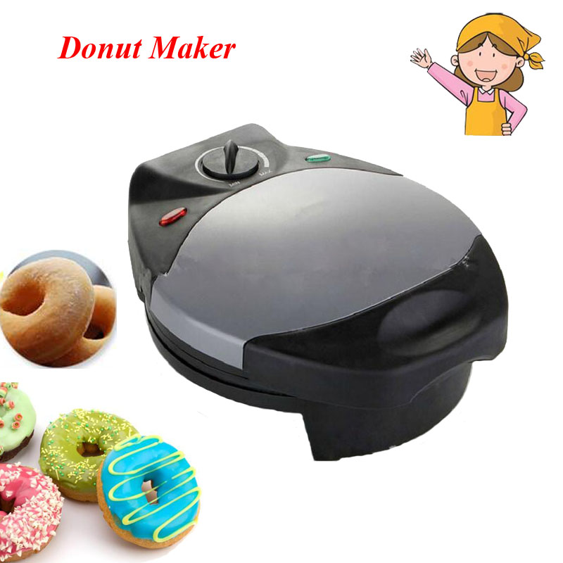 1pc 220V Electric Waffle Maker Household Muffin,Doughnut Machine for Kitchen and Restaurant Small Cake and Donut Maker FY-5 free shipping 220v 110v round cake maker muffin machine muffin maker shortcake waffle maker