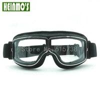Nuovo Stile Classico Harley Moto occhiali Antivento Occhiali per motocross Ciclismo Moto Sport occhiali Aviator Pilot Cruiser