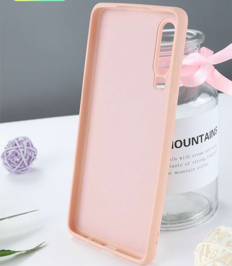 Image 5 - Phone Cases For huawei p20 lite mate 20 lite Pro Liquid Silicone Original Soft TPU Capa Fundas Cover For P20 P30 Pro Case-in Fitted Cases from Cellphones & Telecommunications