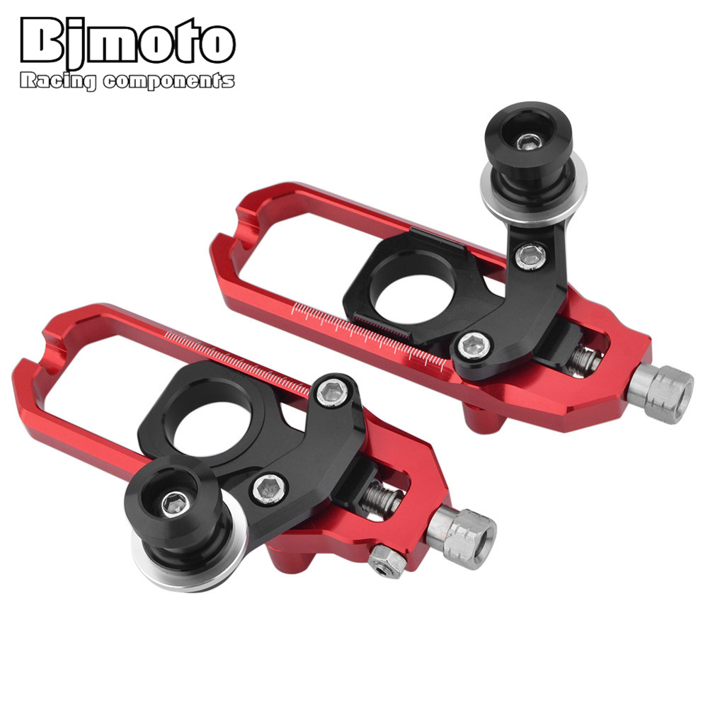 Bjmoto Motorcycle CBR 600 RRParts CNC Tensioners chain Catena rear axle spindle with Spools For Honda CBR600RR F5 2007-2015 for honda cbr600rr 2007 2008 2009 2010 2011 2012 motorbike seat cover cbr 600 rr motorcycle red fairing rear sear cowl cover