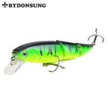 BYDONSUNG 11CM 15 3G Fishing Lures 3 Segment Lifelike Swimbait Plastic Hard Baits 5 Colors Wobblers