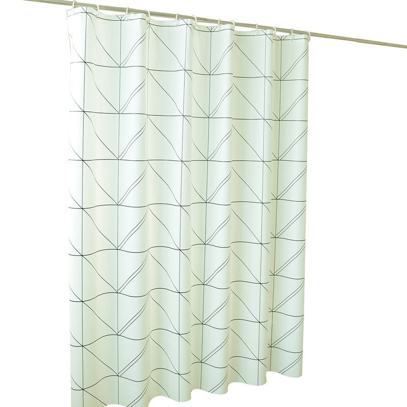 Fabric Toilet Thickening Defence Waterproof Mould Proof Partition Bape Shower Curtain Ring Occlusion Hanging Bathroom Curtain in Shower Curtains from Home Garden