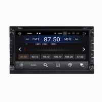 2 Гб ОЗУ 2 din 6,95 Android 8,1 Универсальное автомобильное радио DVD gps мультимедийное головное устройство с Bluetooth wifi ТВ USB Зеркало ссылка