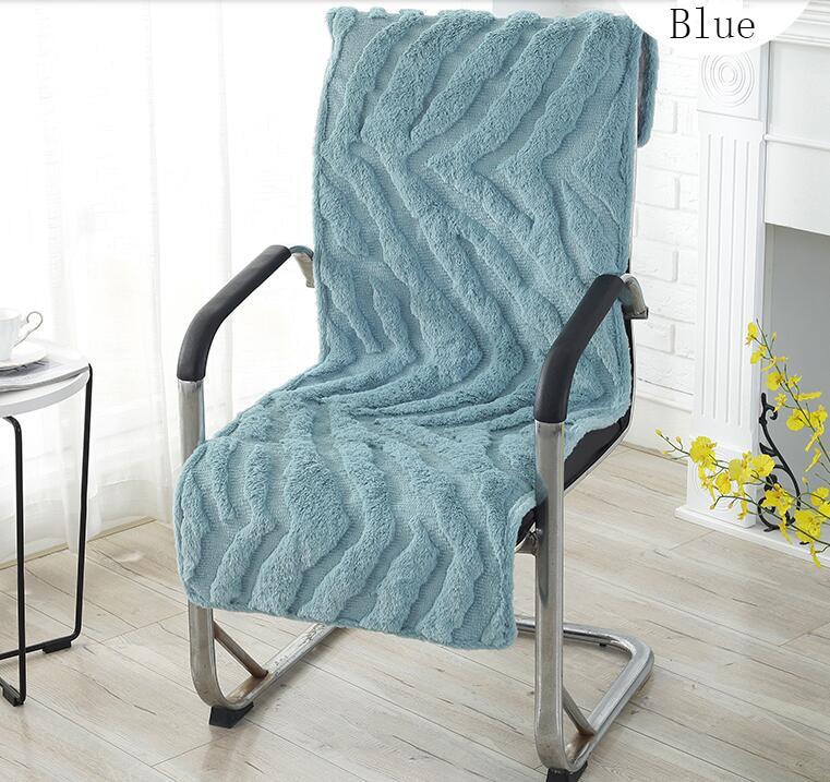 Fyjafon Seat Cushion Thick Winter Back Cushion Non-slip Soft Seat Cushions For Office Chair 40*145/45*145/50*145
