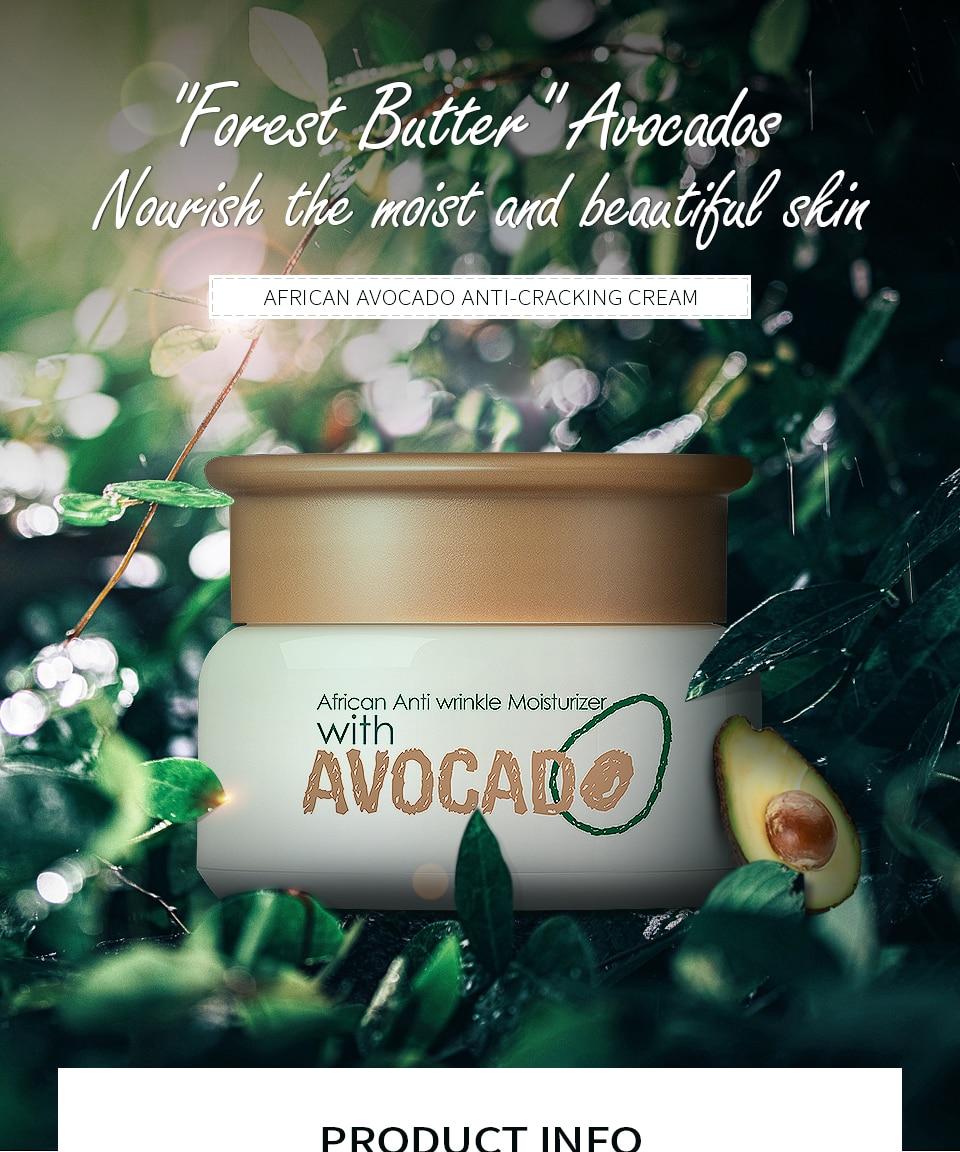African Poren us $3.78 57% off|laikou avocado day creams korean cosmetic deep  moisturizing face cream hydrating anti wrinkle whitening lift esseence skin  care-in