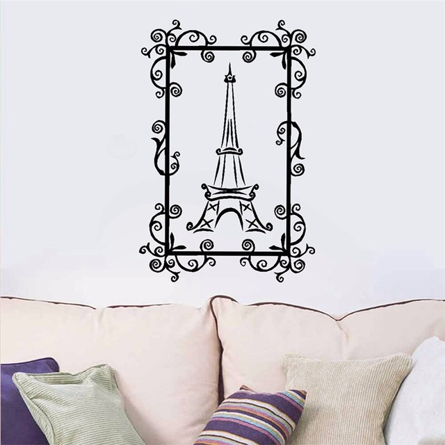 home wall stickers the eiffel tower stickers paris eiffel tower