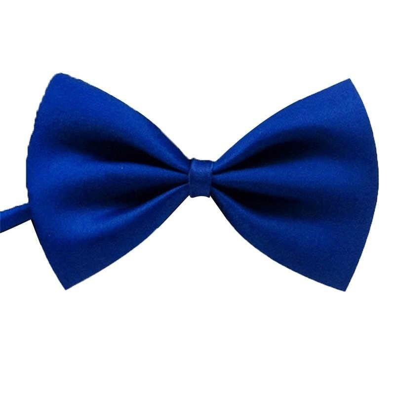 DSstyles Bow Tie Wedding Bowtie Noeud Papillon Boys & Girls Polyester Silk Pajaritas Cravat Bowties Female Male Neckwear