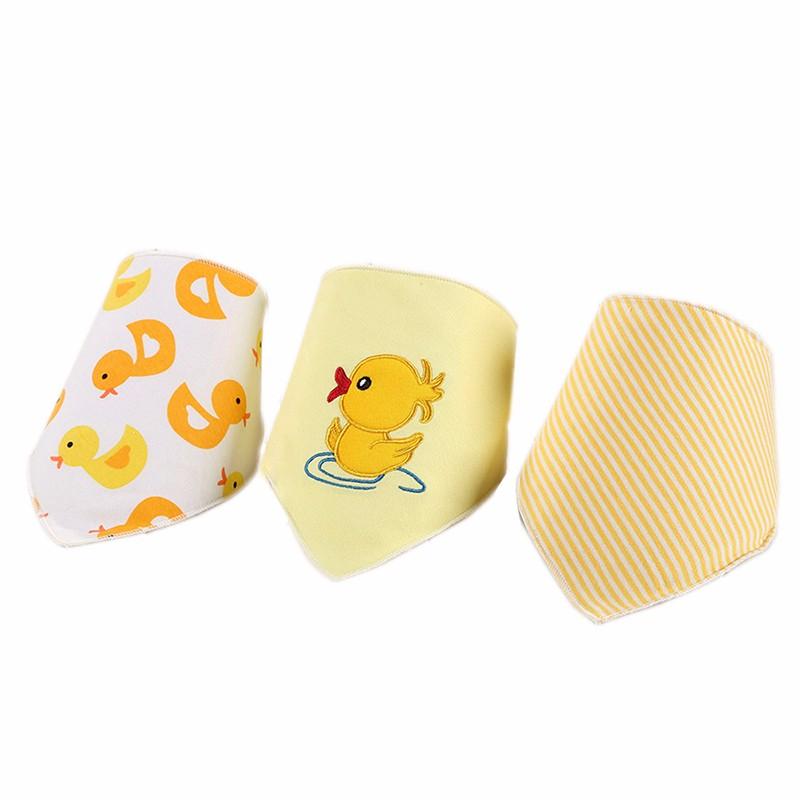 3pcsset Baby Bibs Cotton Bandana Bibs Newborn Baby Girls Boys Infant Babador Saliva Bavoir Towel baberos bebes Babadores WZ001 (7)