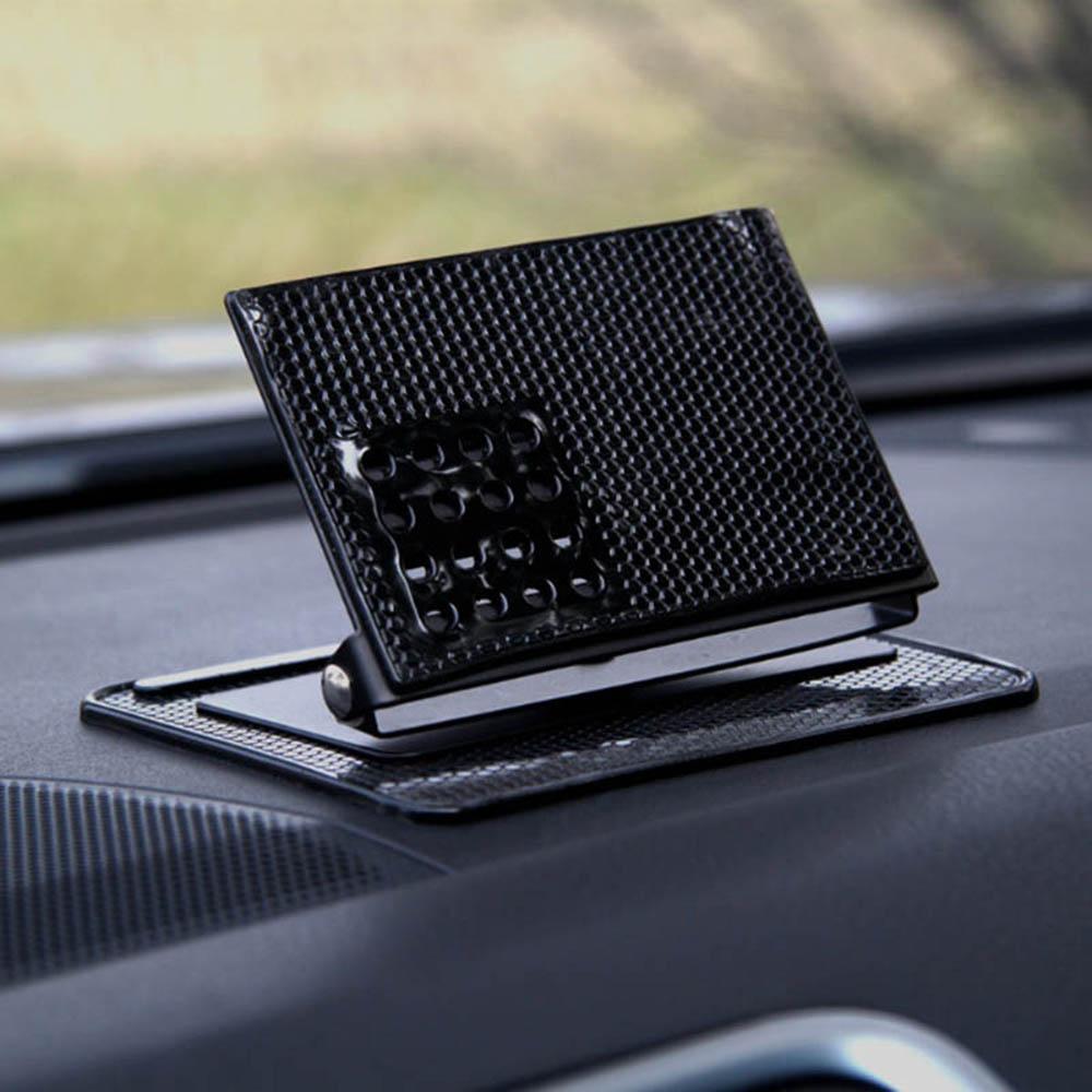 HTB1oHpCXcfrK1RjSszcq6xGGFXaa - Car Ornament Silicone 360 Rotating Phone Holder Non-Slip Mat Automobile Dashboard Adjustable Angle Anti Slip Mat Car Gadget