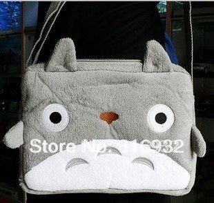 I4 New! My Neighbor Totoro Plush Backpack School messenger Bag for children, 1pc PB027