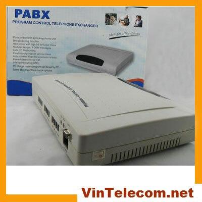 VinTelecom CP308 avec 3 lignes CO x 8 ext. MINI PBX pour la solution de système de téléphone SOHO