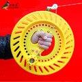 O Envio gratuito de Esportes Ao Ar Livre Divertidas Ferramentas de Vôo/Kites Acessórios Grande Rolamento de Roda Pode Ser Enrolado 1000 m Linha de Pipa ABS