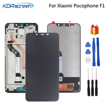 Original For Xiaomi Pocophone F1 LCD Display Touch Screen Digitizer Phone Parts For POCO F1 Screen LCD Display Replacement Tool