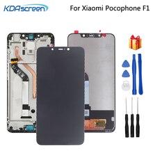 Oryginał dla Xiaomi Pocophone F1 wyświetlacz LCD ekran dotykowy Digitizer części do telefonu dla POCO F1 ekran LCD wymiana narzędzia