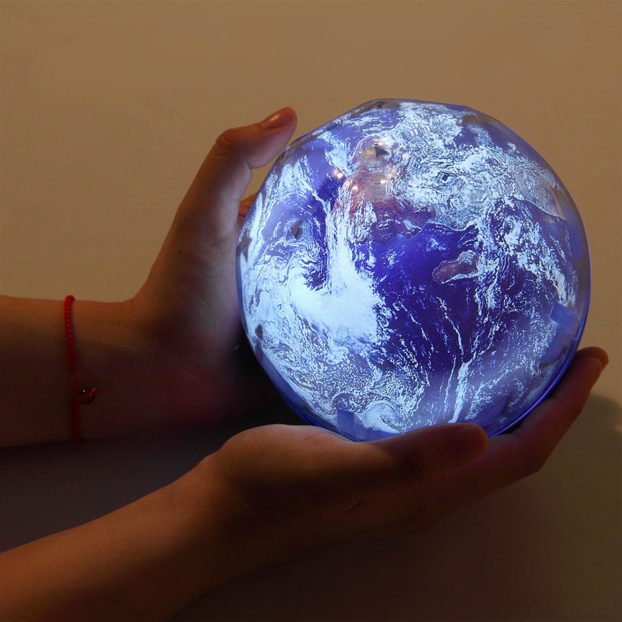 Earth Universe LED Night Light Starry Sky Planet Magic Projector Colorful Rotate Birthday Christmas Projector Lamp For Bedroom in LED Night Lights from Lights Lighting