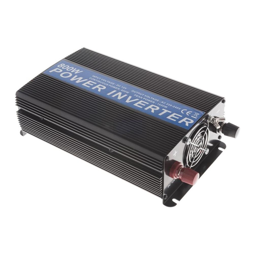 все цены на Portable  Car Vehicle Power Inverter 800W DC12V 24V To AC220-240V/AC110-120V Power Inverter Adapter Converter