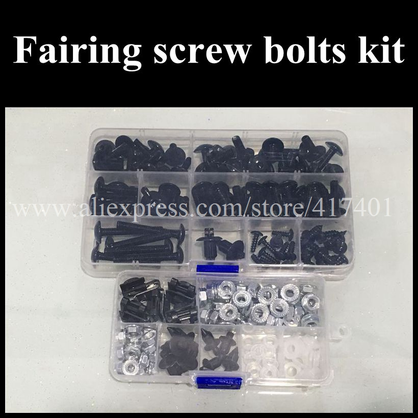 Fairing bolts kit full screw kits For HONDA GL1800 Goldwing 01-10 GL 1800 GL-1800 2001 2002 2003 2004 2005 2006 Nuts bolt screws