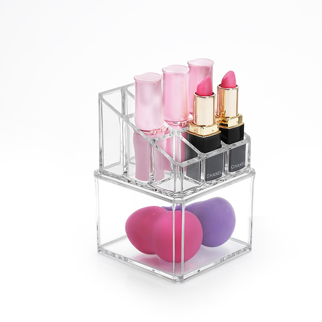 M Acrylic Cosmetic holder Clear Makeup Organizer Transparent