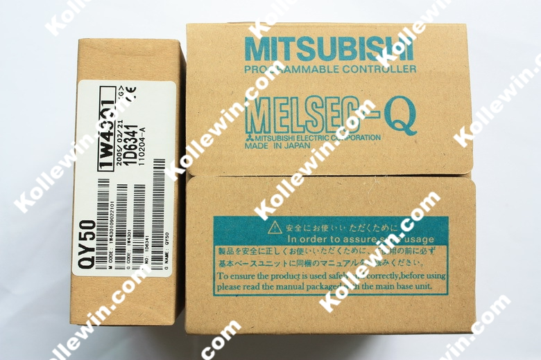 1pc QY50 Q Series MELSEC PLC Module, OUTPUT MODULE 16PT SINK TR. HI-CURRENT QY50 NEW in Box Free Shipping 1pc new in box original c200h ps221 c200hps221 plc module