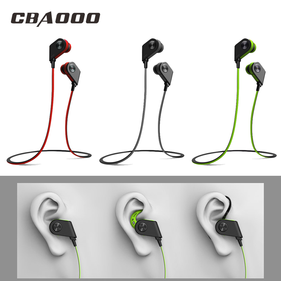 CBAOOO K1 Bluetooth Earphone Sports Wireless Bluetooth Headphone Ear hook Blutooth Headset With Mic for iPhone Xiaomi phone