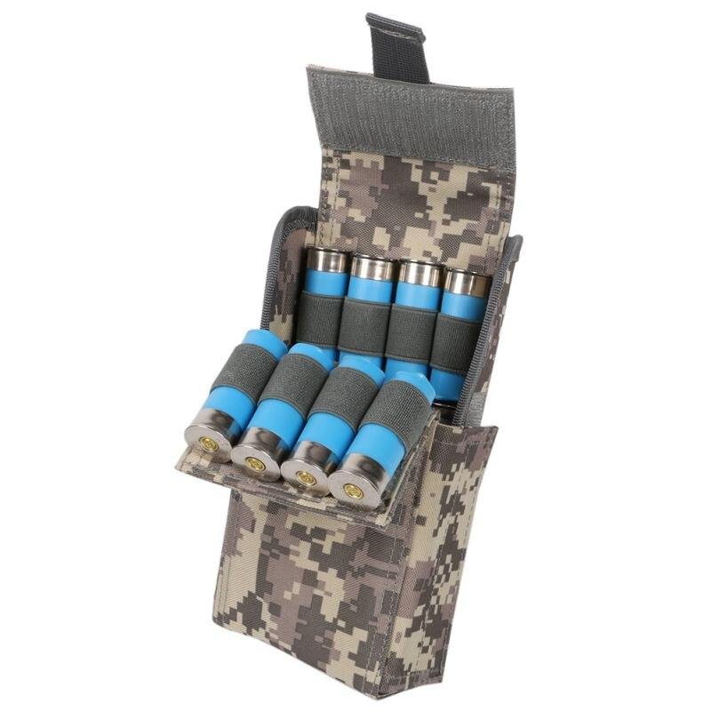 Nuevo 2018 Molle 25 redondo 12GA 12 Gauge Ammo conchas escopeta Reload Magazine bolsas revista bolsa de la munición de la caza