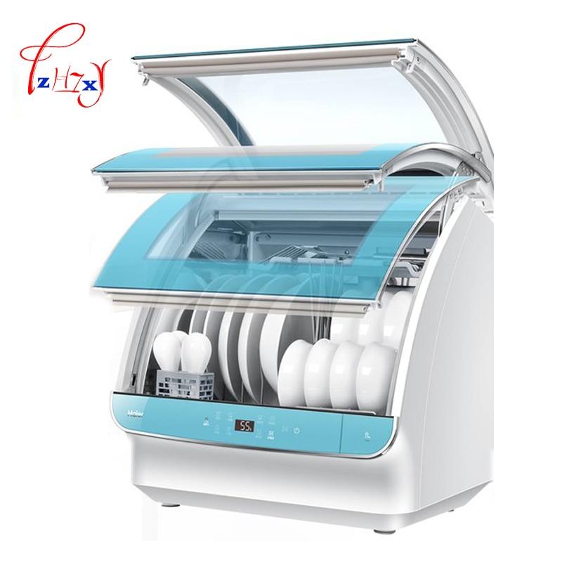 Home use Automatic Dishwasher Machine Drying Dish Washing Machine Sterilization Dish bowl wash machine HTAW50STGGB  1pc shanghai kuaiqin kq 5 multifunctional shoes dryer w deodorization sterilization drying warmth