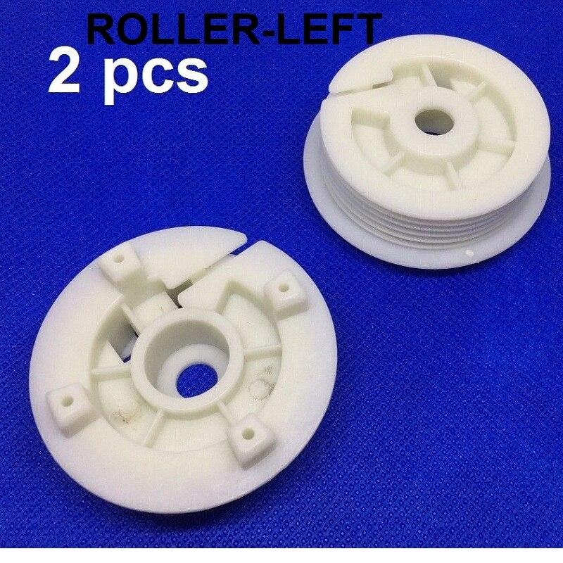 Window Regulator Repair Roller Slider Clips Kit For Peugeot 306 Cabriolet Front Left / Right 1993-2002
